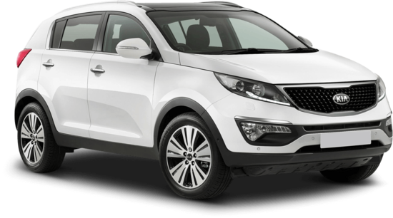 thrifty location voiture guadeloupe Kia Sportage